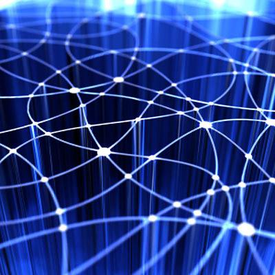 Putanje paketa podataka na internetu, grafički prikaz