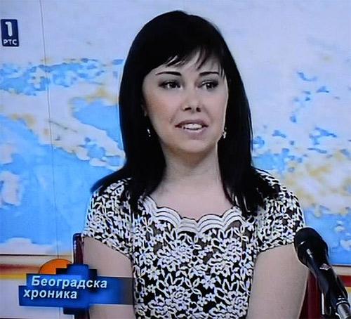 Ana Todorović-Radetić u beogradskoj hronici na RTS-u