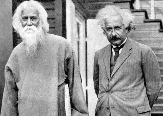 Ajnštajn Tagore, susret