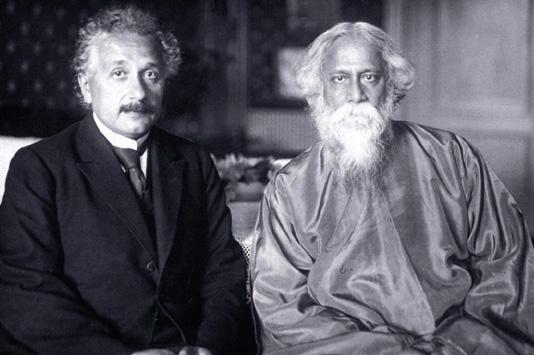 Ajnštajn i Tagore