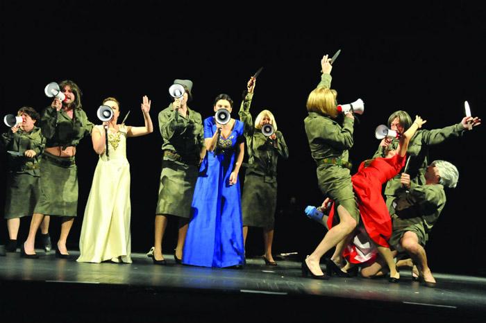 Predstava Rodoljupci, foto: Vicenciov Žaknić